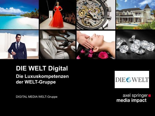DIE WELT Online - Axel Springer MediaPilot