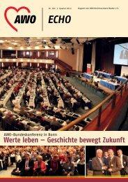 Werte leben — Geschichte bewegt Zukunft - AWO Baden