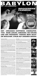 indogerman filmweek - Babylon
