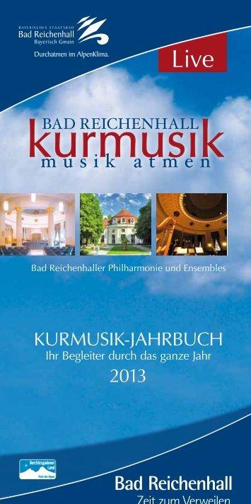 Kurmusik_Jahrbuch_2013 - Bad Reichenhall