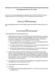 Satzung über die Erhebung von ... - Bad Sobernheim