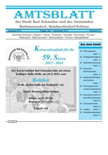 Ausgabe 44. KW 2013 - Bad Schandau