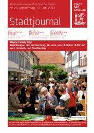 Stadtjournal Ausgabe 24/2013 - Stadt Bad Saulgau