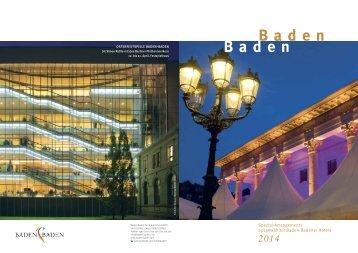 Deutsch (6,4 MB) - Baden-Baden