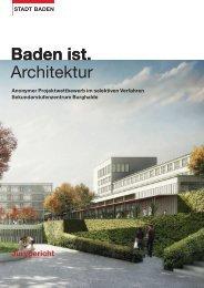 Jurybericht - Stadt Baden