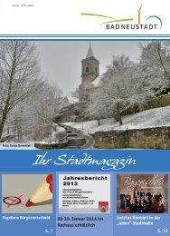 Ausgabe Januar 2014 - Stadt Bad Neustadt an der Saale