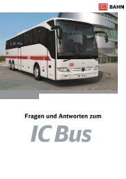 FAQ zum IC Bus - Bahn