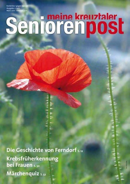Seniorenpost 2011/1 - Stiftung Diakoniestation Kreuztal