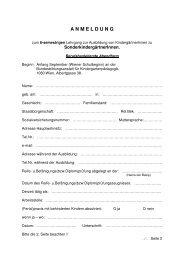Anmeldeformular - Bakip8