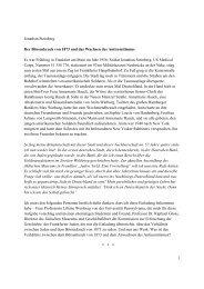 Redemanuskript Jonathan Steinberg - Historische Gesellschaft der ...