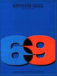 1969 - Historische Gesellschaft der Deutschen Bank e.V.