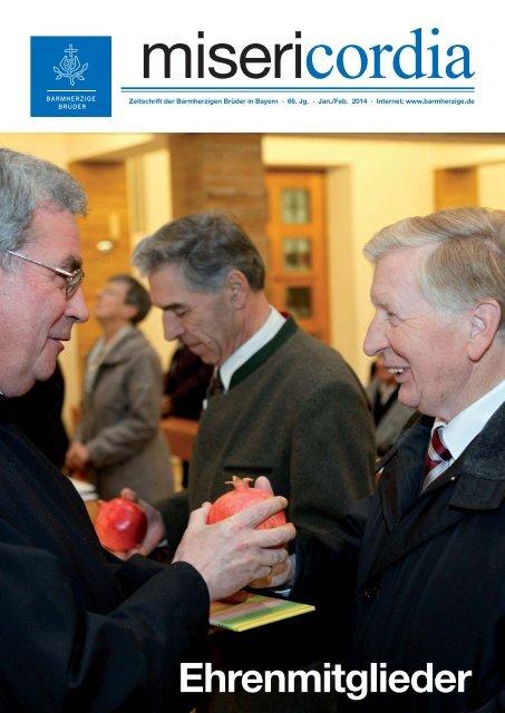 Ehrenmitglieder - Krankenhaus Barmherzige Brüder Regensburg