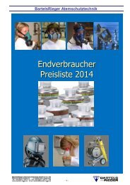 Endverbraucher Preisliste 2014 - Bartels & Rieger GmbH & Co