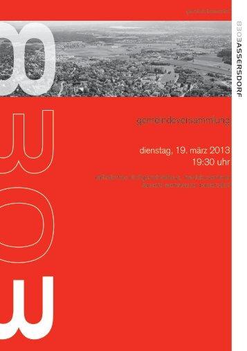 2013-03-19 GV Broschüre [PDF, 1.00 MB] - Bassersdorf