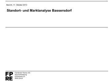 2013-10_Studie_Standortanalyse [PDF, 2.00 MB] - Bassersdorf