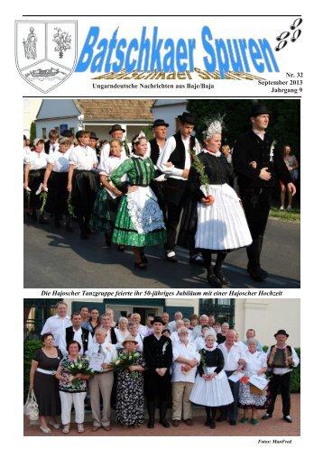 Nr. 32 September 2013 Jahrgang 9 Die Hajoscher Tanzgruppe ...