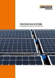 Bauder Photovoltaik-Systeme (0213/DE)
