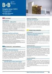 Ausgabe Januar 1/2014 - BauenimBestand24