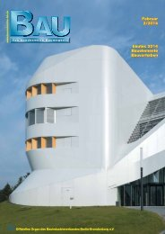 bautec 2014 - Bauindustrieverband Berlin-Brandenburg e.V.