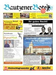 08.Februar 2014 (6.KW) - BautzenerBote.de