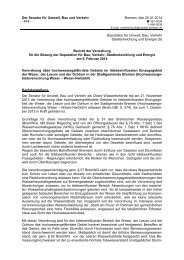 Verordnung über hochwassergefährdete Gebiete im ...