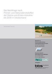 Die Nachfrage nach Primär - Bundesverband Baustoffe - Steine und ...