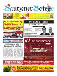 30.November 2013 - BautzenerBote.de