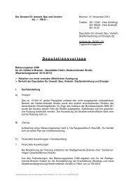 Bebauungsplan 2398 für ein Gebiet in Bremen - Neustädter Hafen