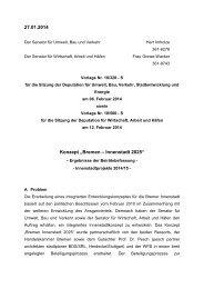 Bremen – Innenstadt 2025 - Der Senator für Umwelt, Bau und Verkehr