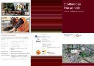 Stadtumbau Huckelriede - Der Senator für Umwelt, Bau und Verkehr
