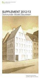 zum Download - TU Dortmund - Architektur und Bauingenieurwesen