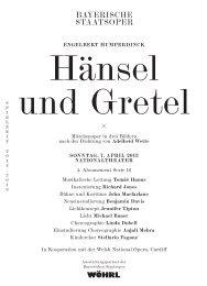 Cast list as PDF Download - Bayerische Staatsoper
