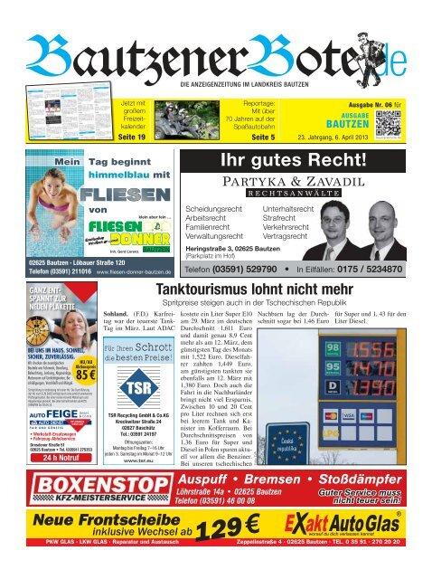 06.April 2013 (14.KW) - BautzenerBote.de