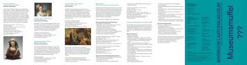 und Familienprogramm (PDF) - Bayerisches Nationalmuseum