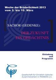 Woche der Brüderlichkeit 2013 - Evangelisch-Lutherische Kirche in ...