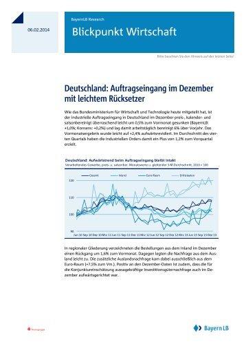Blickpunkt Wirtschaft - Bayerische Landesbank