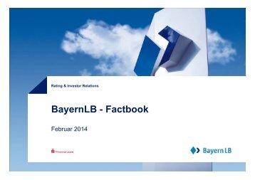 BayernLB - Factbook - Bayerische Landesbank