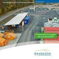 Abfallfibel 2014 - Stadt Bayreuth