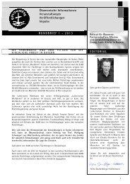 Rundbrief 1/2013 - Evangelisch-Lutherische Kirche in Bayern