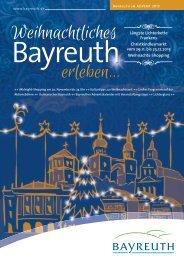 Längste Lichterkette Frankens Christkindlesmarkt ... - Stadt Bayreuth