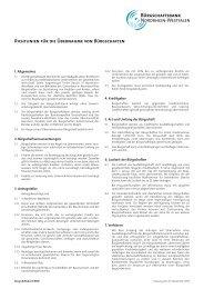 Richtlinien_Burgschaften - Bürgschaftsbank NRW