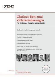 Chefarzt-Boni und Zielvereinbarungen - Barmherzige Brüder Trier e ...