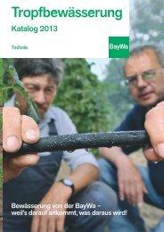 Tropfbewaesserung 2013 kpl klein - BayWa AG