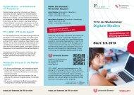 Flyer Fit in Mint Digitale Medien 2013