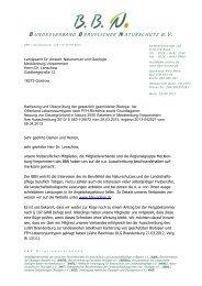 Schreiben BBN an LUNG 2013 - Bundesverband Beruflicher ...