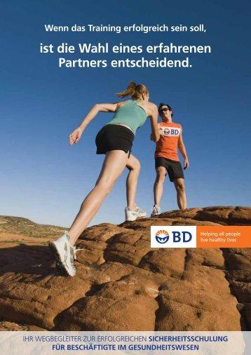 ist die Wahl eines erfahrenen Partners entscheidend. - BD