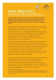 SocialMedia-Guidelines - BDKJ Rottenburg-Stuttgart
