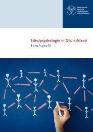 Schulpsychologie in Deutschland - Sektion Schulpsychologie