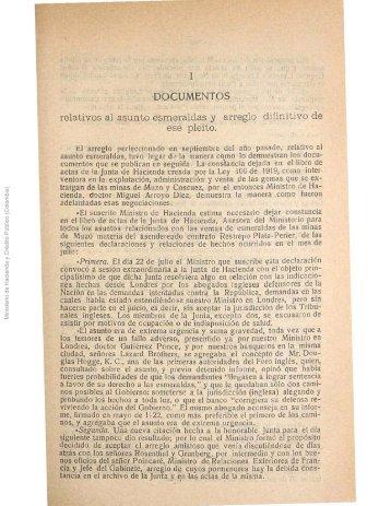 PDF (Tercera Parte - Documentos relativos al asunto esmeraldas y ...