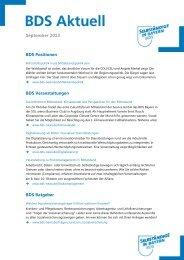 Aktuell« Ausgabe 09 / 2013 vom September 2013 - Bund der ...